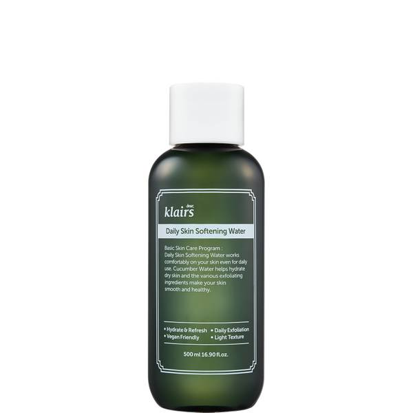Dear, Klairs Daily Skin Softening Water 500ml