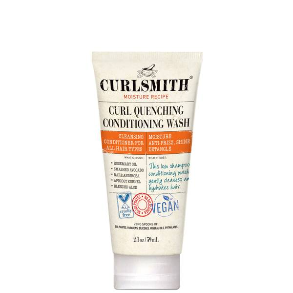 Curlsmith Curl Quenching Conditioning Wash Travel Size 59ml