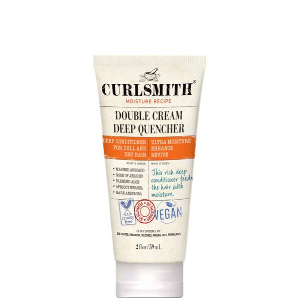 Curlsmith Double Cream Deep Quencher Travel Size 59ml