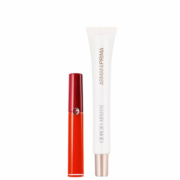 Armani Exclusive Lip Maestro Intense and Lip Prime Bundle (Various Shades)