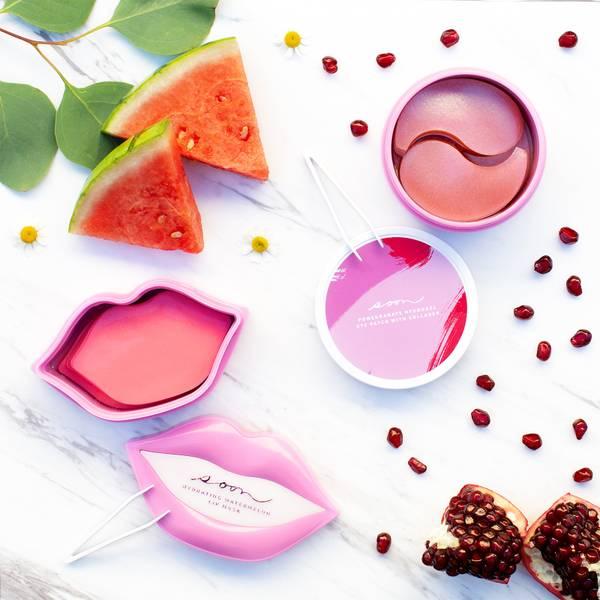 Soon Skincare Seoul Mates Duo – Watermelon Lip Jar and Pomegranate Eye Jar (Worth $172.00)