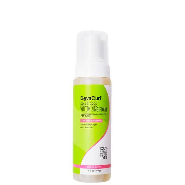 DevaCurl Frizz-Free Volumising Foam - Lightweight Body Booster for Curls 222ml