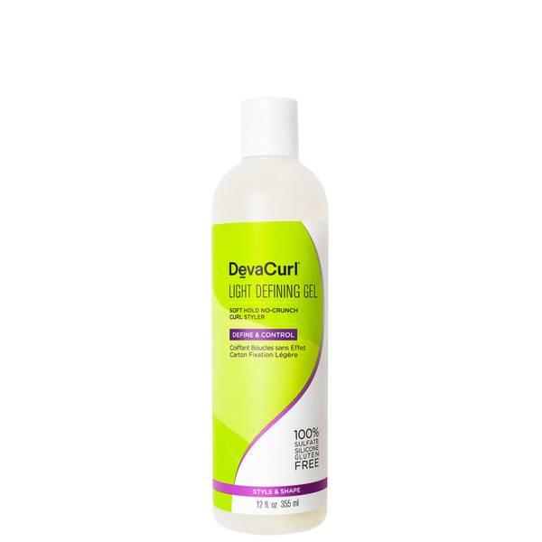 DevaCurl Light Defining Gel - Soft Hold No-Crunch Curl Styler 355ml
