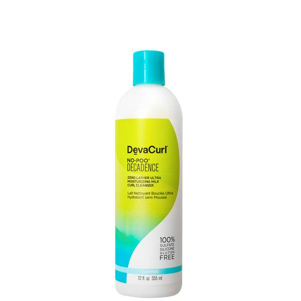 DevaCurl No-Poo Decadence - Zero Lather Ultra Moisturising Milk Curl Cleanser 355ml