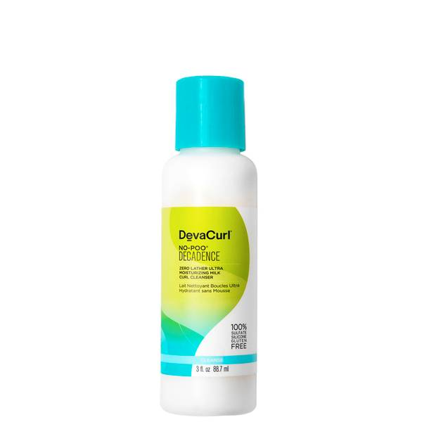 DevaCurl No-Poo Decadence - Zero Lather Ultra Moisturising Milk Curl Cleanser 88ml