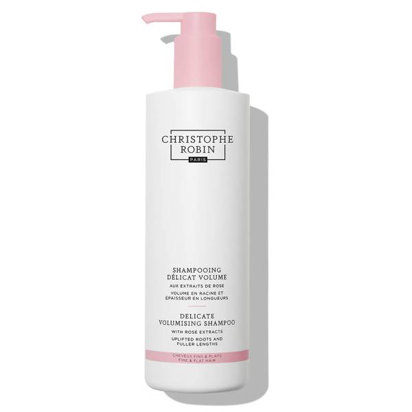 Christophe Robin Delicate Volumising Shampoo with Rose Extracts 500ml