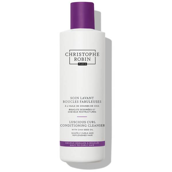 Christophe Robin Luscious Curl Conditioning Cleanser with Chia Seed Oil 250ml