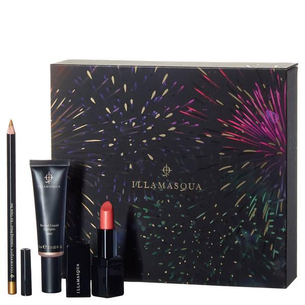 Illamasqua Firework Zestaw do makijażu oczu, ust i policzków