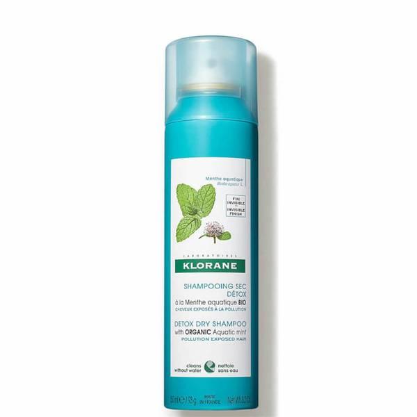 KLORANE Detox ξηρό σαμπουάν με βιολογική υδρόβια μέντα για μαλλιά που έχουν εκτεθεί στη ρύπανση 150ml