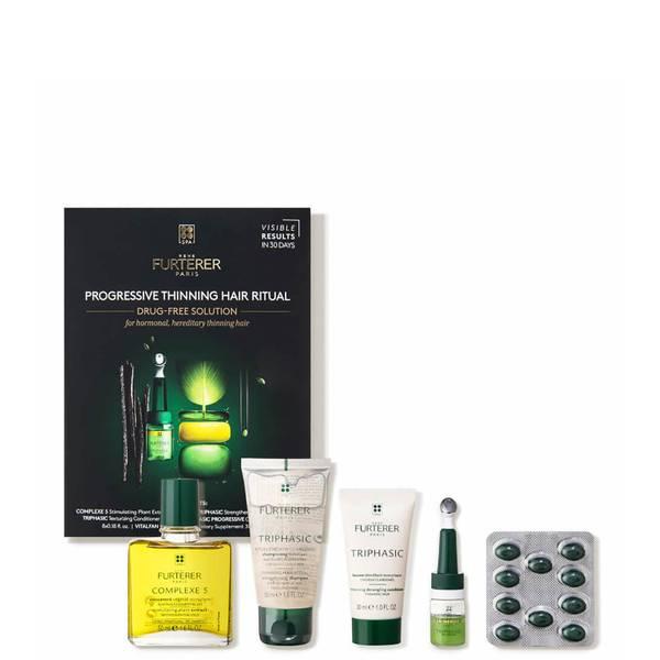 René Furterer Progressive Thinning Hair Ritual for Hormonal Hereditary Thinning Hair - $198 Value