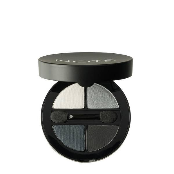 Тени для глаз - Note Cosmetics Luminous Silk Quattro Eye Shadow - SQE-3