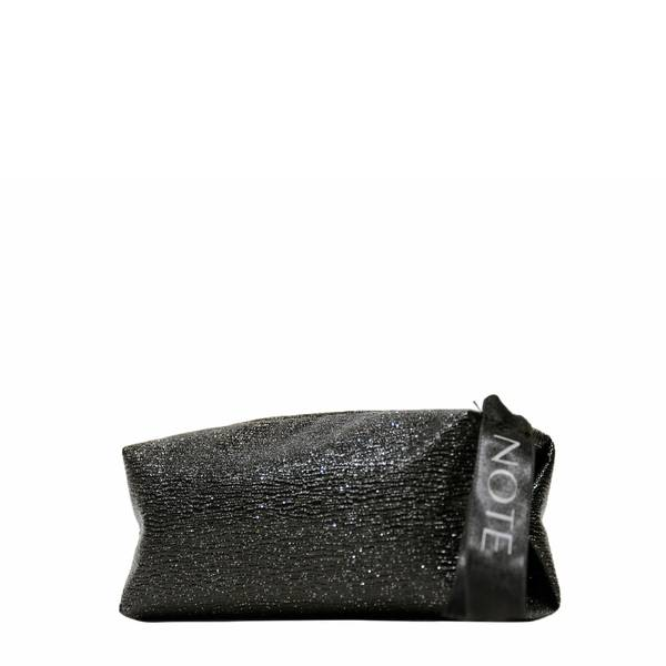 Black Glossy Make Up Bag