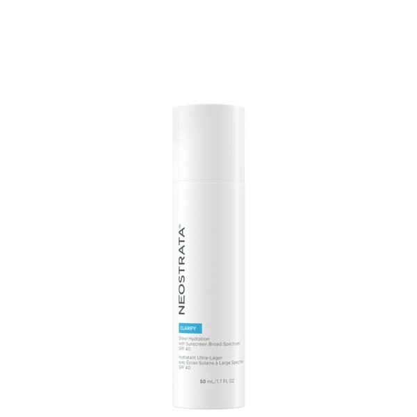 NeoStrata Clarify Sheer Hydration Sunscreen Broad Spectrum SPF40 50ml