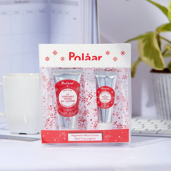Polaar The Genuine Lapland Discovery Kit: Hands 25ml + Lips 10ml