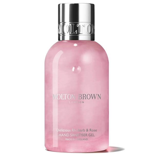 Molton Brown Delicious Rhubarb and Rose Hand Sanitiser Gel 100ml