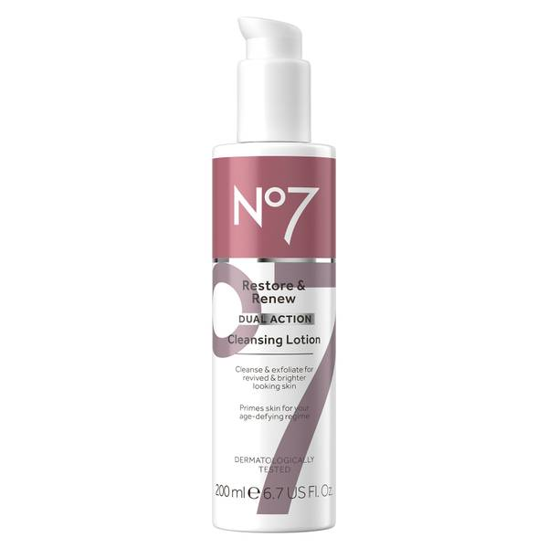 Restore & Renew Dual Action Cleansing Lotion 200ml