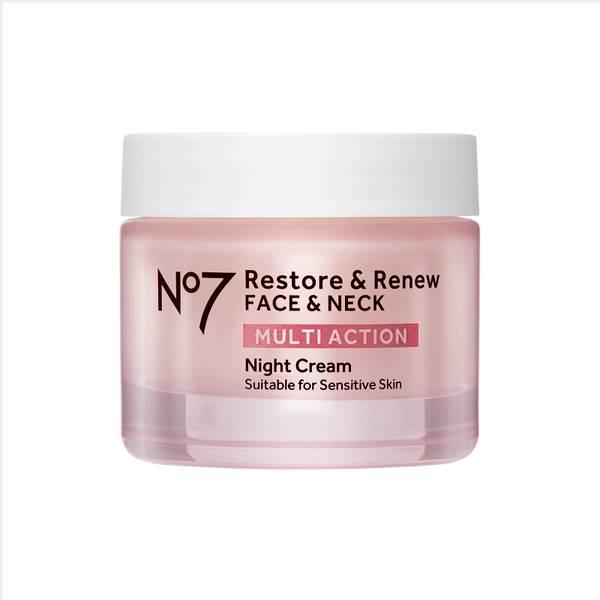 Restore & Renew FACE & NECK MULTI ACTION Night Cream 50ml