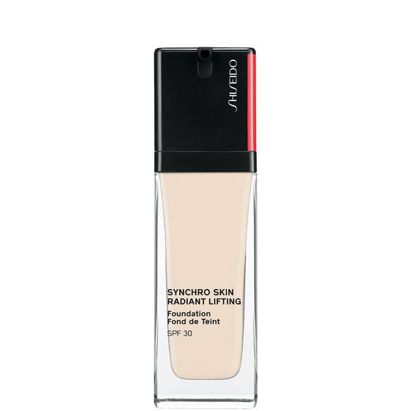 Shiseido Synchro Skin Radiant Lifting SPF30 Foundation 30ml (Various Shades)