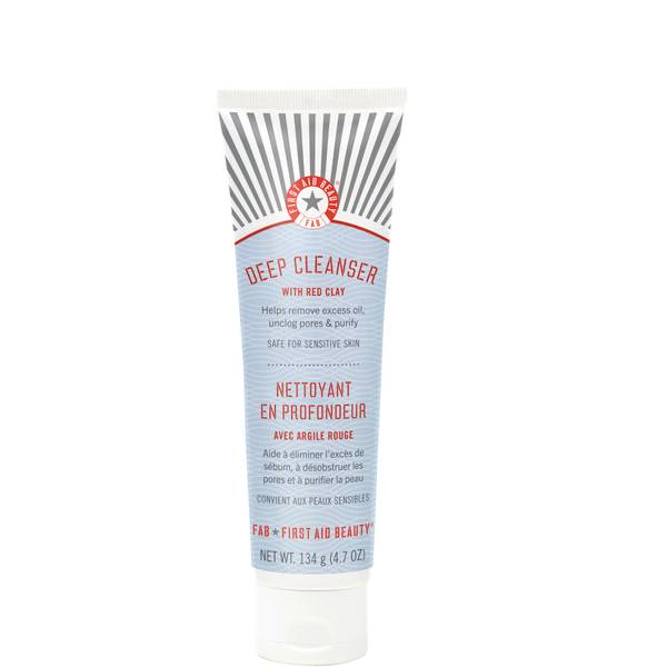 First Aid Beauty Pure Skin Deep Cleanser with Red Clay 134g