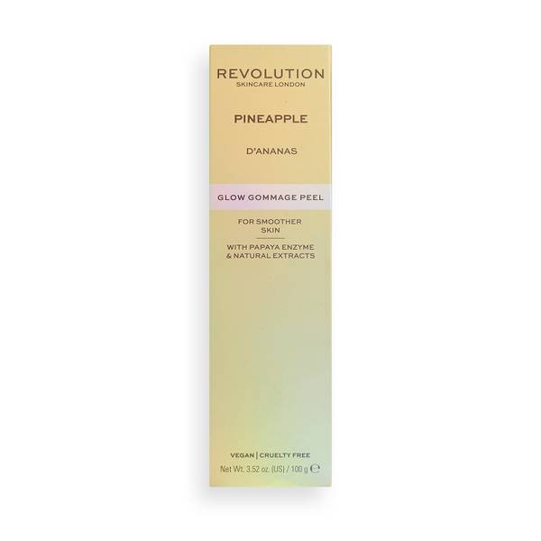 Revolution Skincare Pineapple Enzyme Glow Gommage Peel 100g