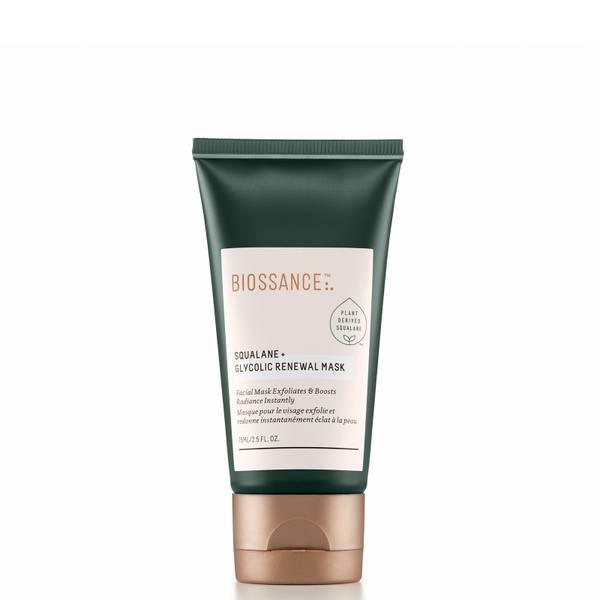 Biossance Squalane and Glycolic Renewal Mask 75ml