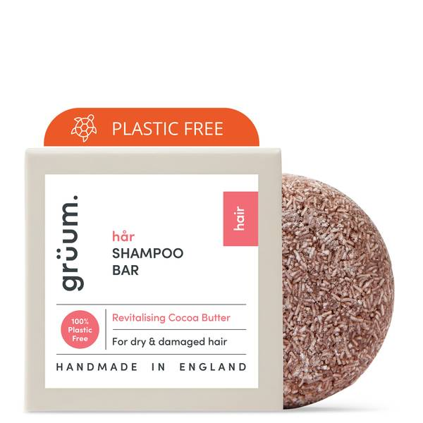 grüum Hår Zero Plastic Revitalising Shampoo Bar 50g