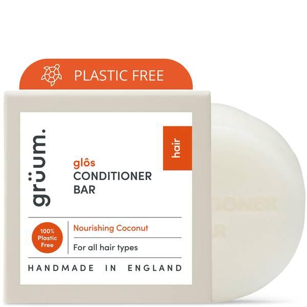 grüum Glôs Zero Plastic Nourishing Conditioner Bar 50g