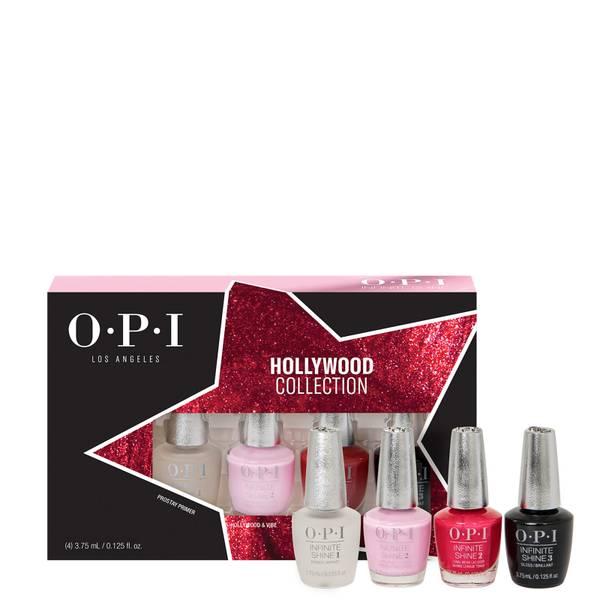 OPI Hollywood Collection Infinite Shine Long-Wear Nail Polish - Mini Gift Set 4 x 3.75ml