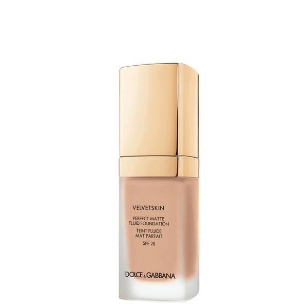 Dolce&Gabbana Velvetskin Perfect Matte Fluid Foundation 30ml (Various Shades)