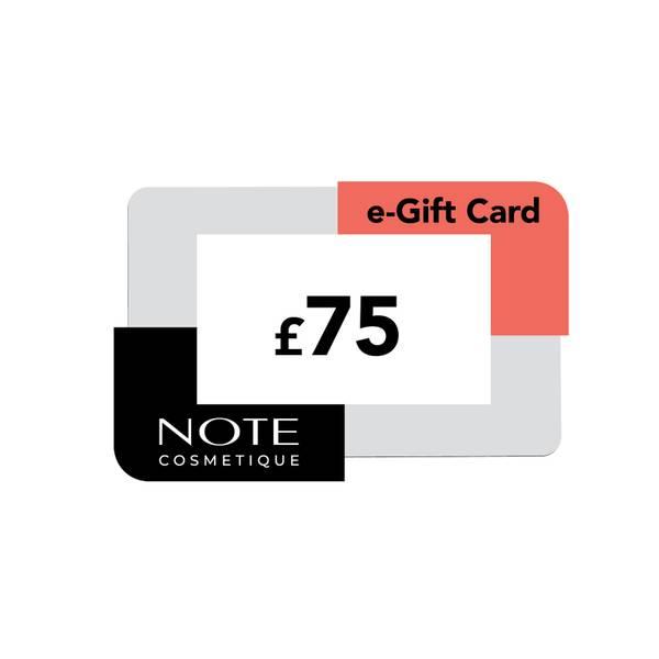 Note Cosmetics eVoucher (£75)