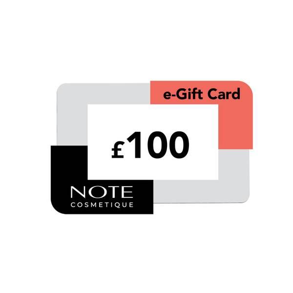 Note Cosmetics eVoucher (£100)