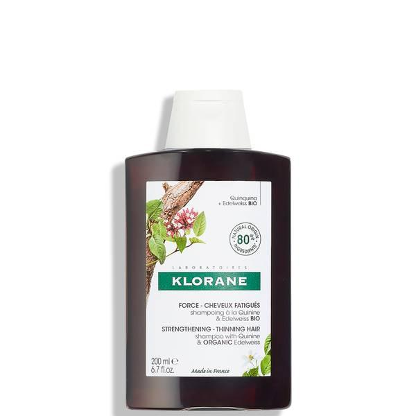 KLORANE Ενισχυτικό σαμπουάν με κινίνη και βιολογικό Edelweiss για αραιά μαλλιά 200ml