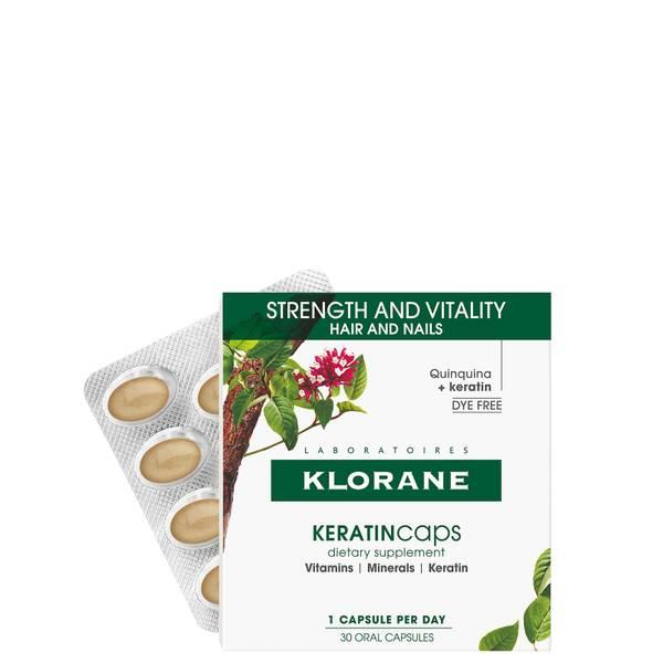 KLORANE Hair and Nail Supplement Caps με Κερατίνη για υγιή μαλλιά 30 ημέρες