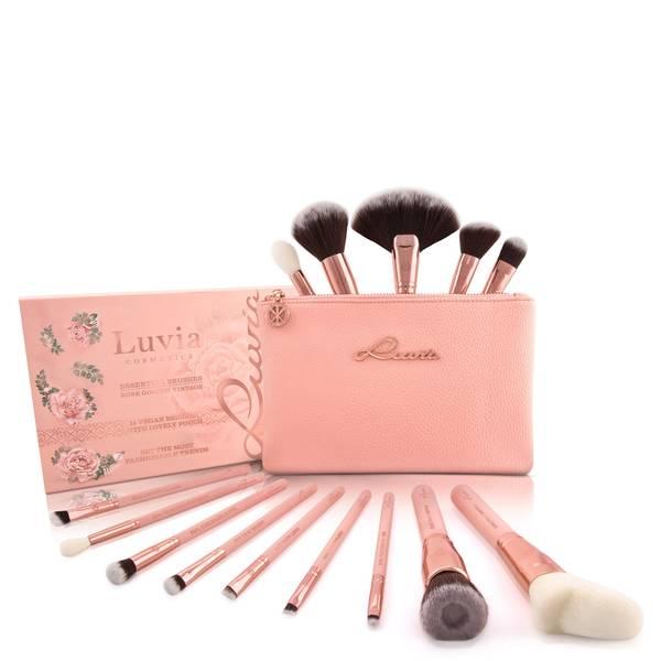 Luvia Essential Brushes Set - Rose Golden Vintage
