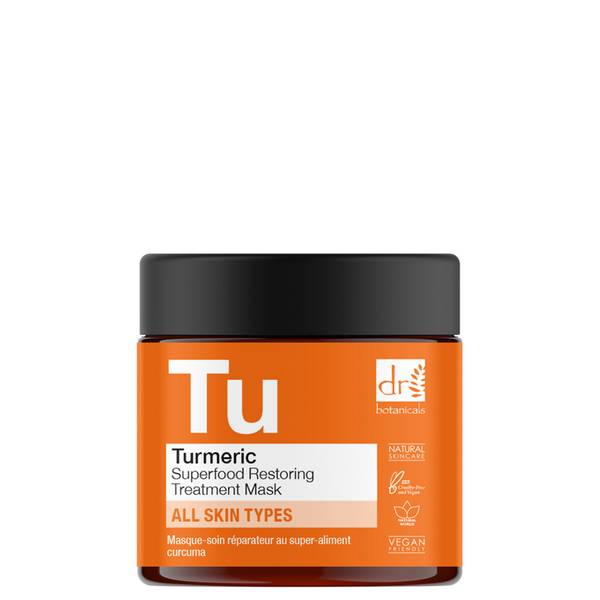 Dr Botanicals Cúrcuma Superfood Restoring Treatment Mask 60ml