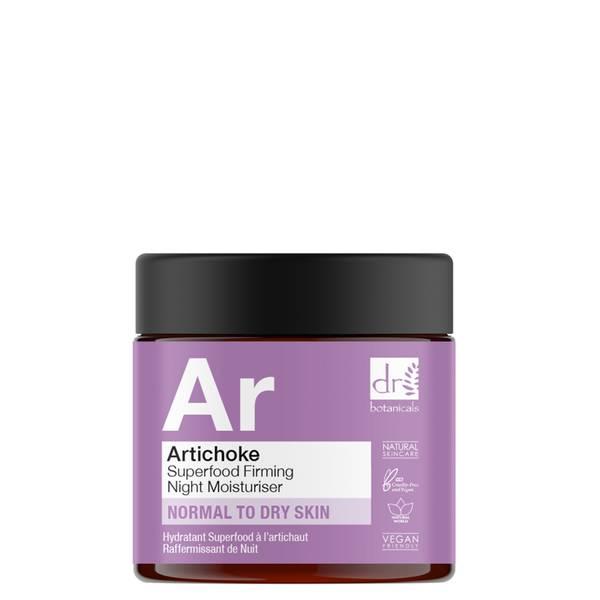 Dr Botanicals Alcachofa Superfood Reafirmante Hidratante de Noche 60ml
