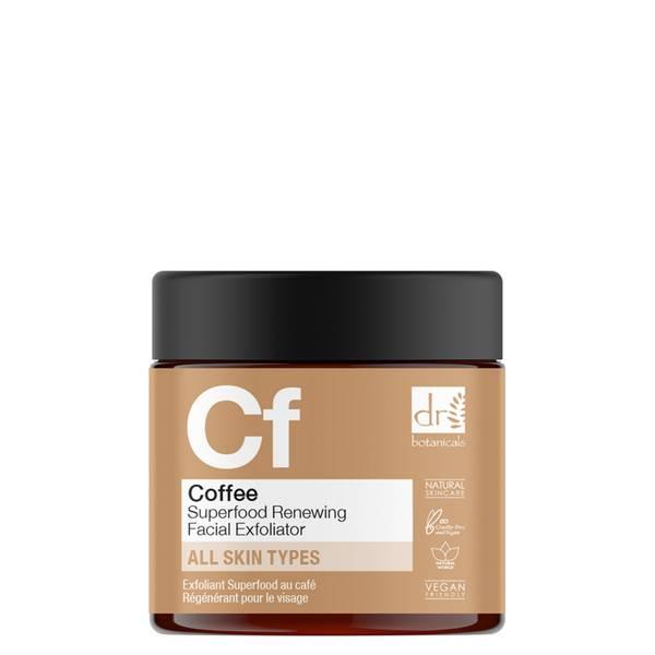 Dr Botanicals Exfoliante facial renovador de café 60ml