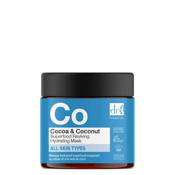 Dr Botanicals Mascarilla Revitalizante de Cacao y Coco 60ml