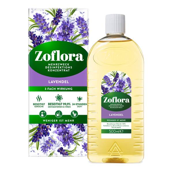 Lavendel Mehrzweck Desinfektionsmittel-Konzentrat 500ml