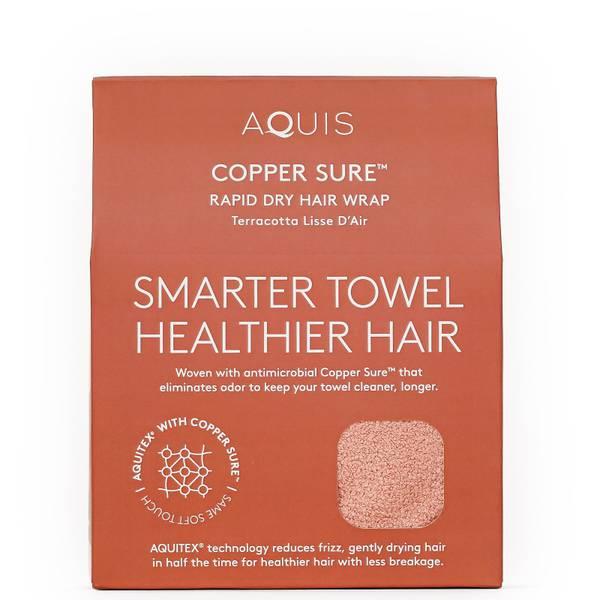 Aquis Anti-Microbial Rapid Turban - Copper