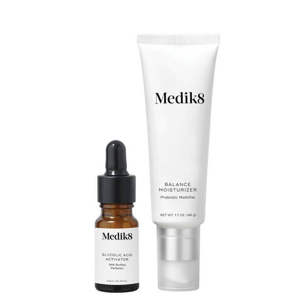 Medik8 Balance Moisturiser with Glycolic Acid Activator 48g