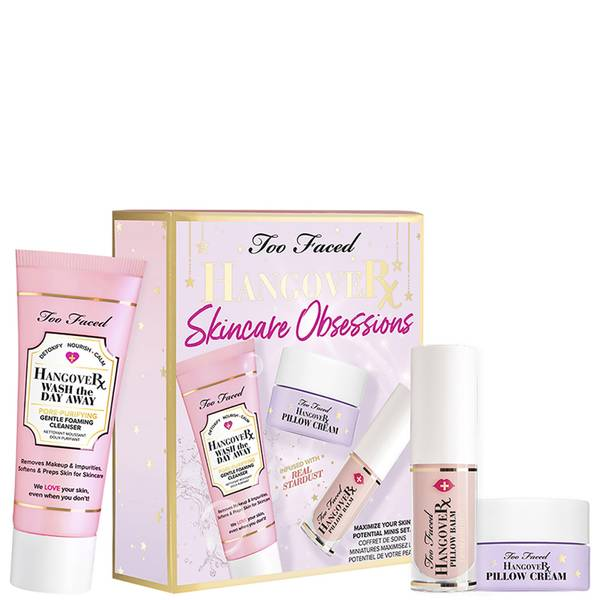Too Faced Hangover Skincare Obsessions Set (Worth £36.00)