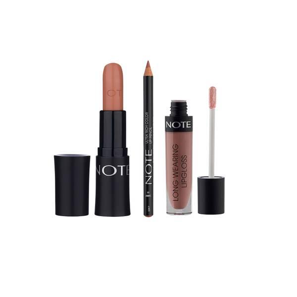 Note Cosmetics Perfect Nude Lip Trio