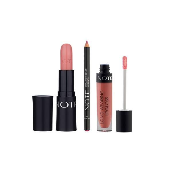 Note Cosmetics Pretty in Pink Lip Trio