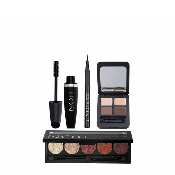 Note Cosmetics Deluxe Eye Bundle - Brunette