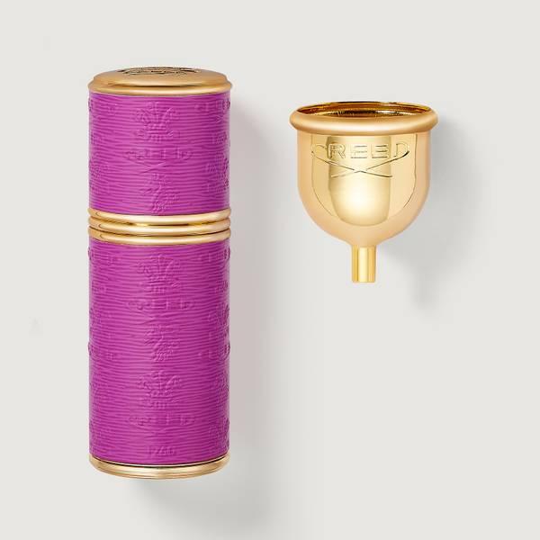 Atomiser 50ml Gold/Neon Violet