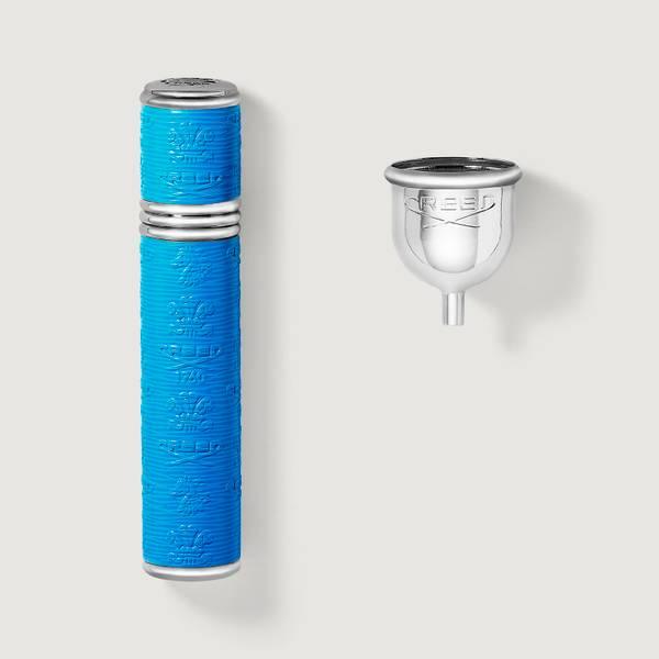 Vaporisateur 10ml Argent/Bleu Fluo