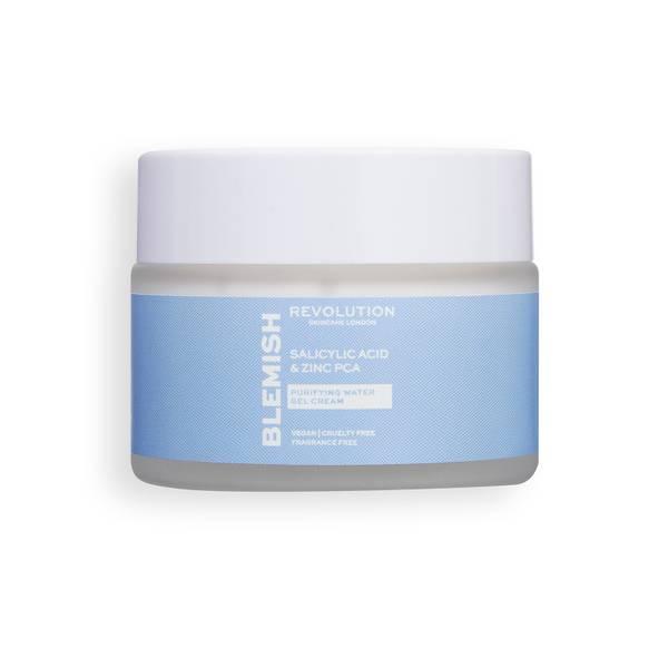 Revolution Skincare Salicylic Acid and Zinc PCA Purifying Water Gel Cream 50ml