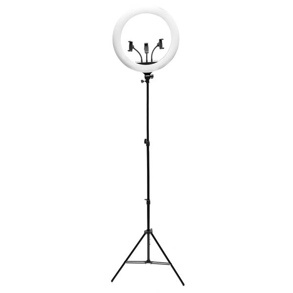 Rio Professional Makeup and Vlogging 18 Inch Dimmable LED Ring Light