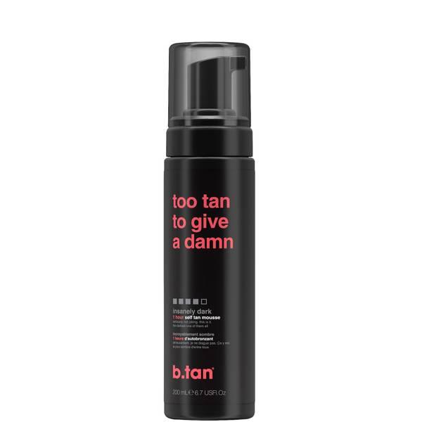 B.Tan Too Tan to Give a Damn Self Tan Mousse 200ml